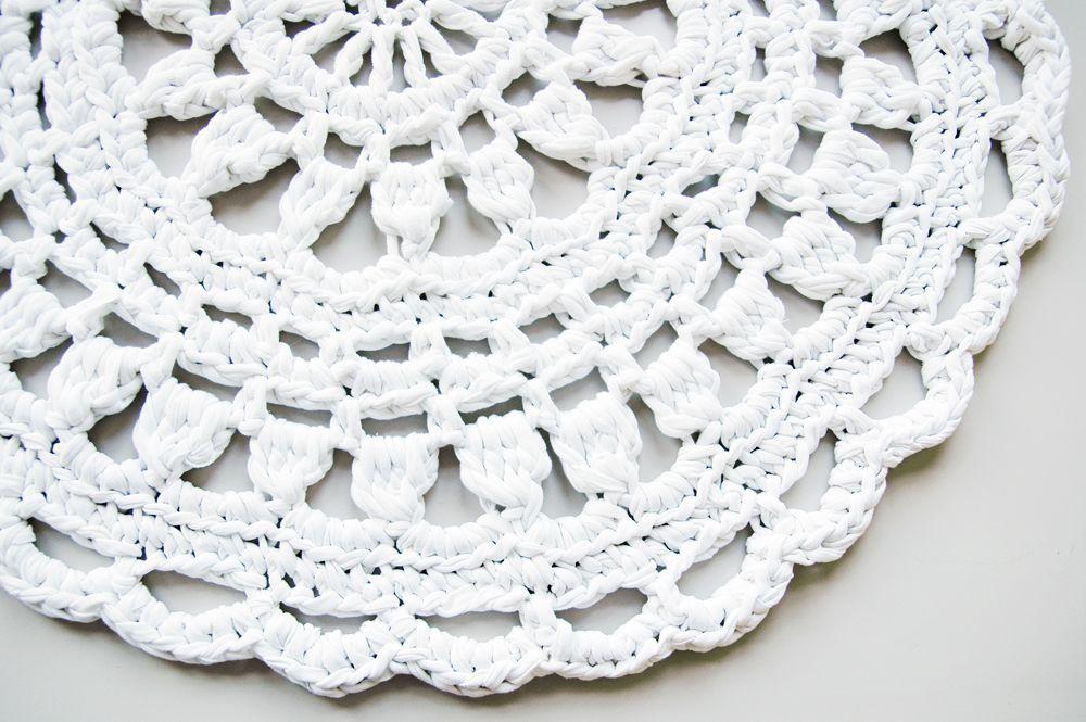Tuulo - crochet doily rug by buubok   Home & Interior Ideas ...