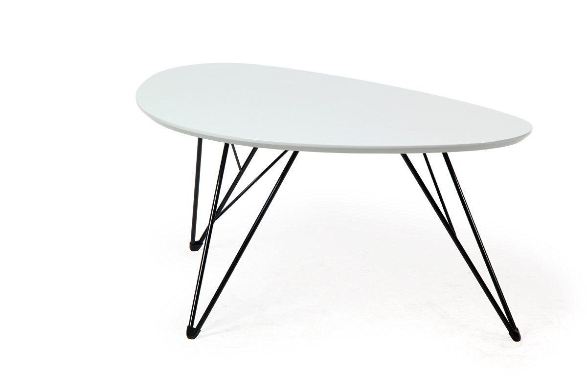Bonvivo Design Couchtisch Ray Beistelltisch Nierentisch Im 50er