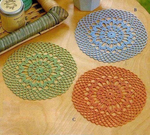 Crochet Doilies Free Patterns - Beautiful Small Doilies (Crochet Art ...