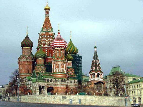 St. Basil's Cathedral is perhaps the most beautiful orthodox church in Russia