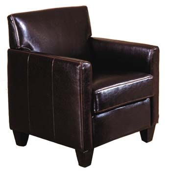 small leather club chair | Buy cheap Leather armchair ...