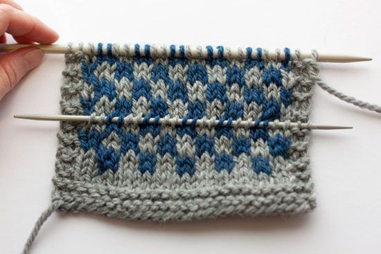 Figure 17 Fixing Common Errors In Colourwork Great Tutorial For