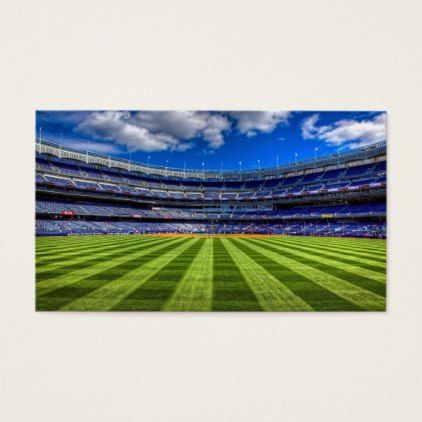 Football Field Create Your Own Business Card Gifts Personalize Cyo Custom
