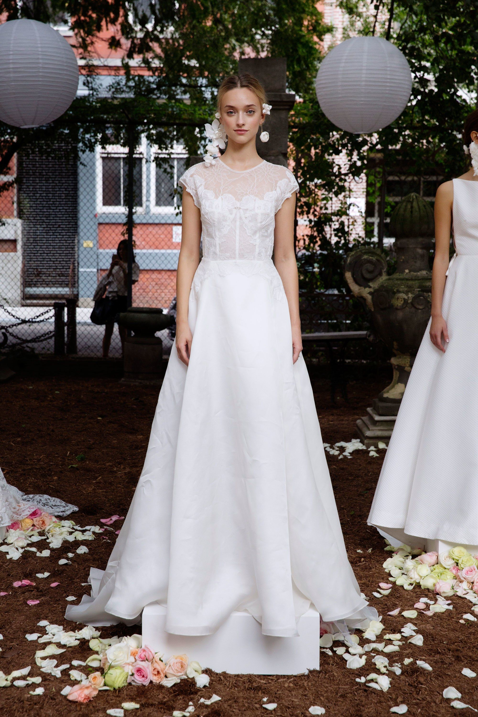 Lela rose bridal fall fashion show lela rose dress fashion