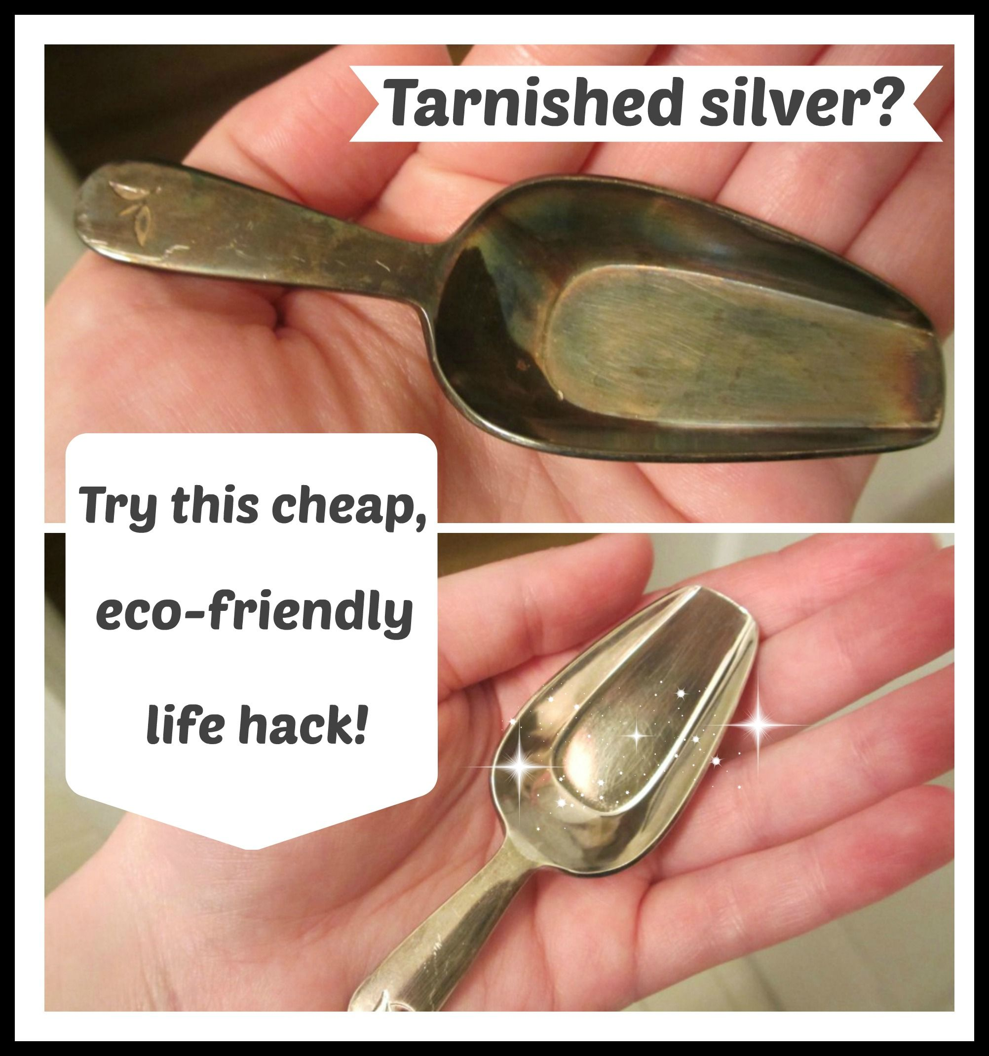 How to polish silver easily at home eco friendly and soda for Baking soda silver polish jewelry