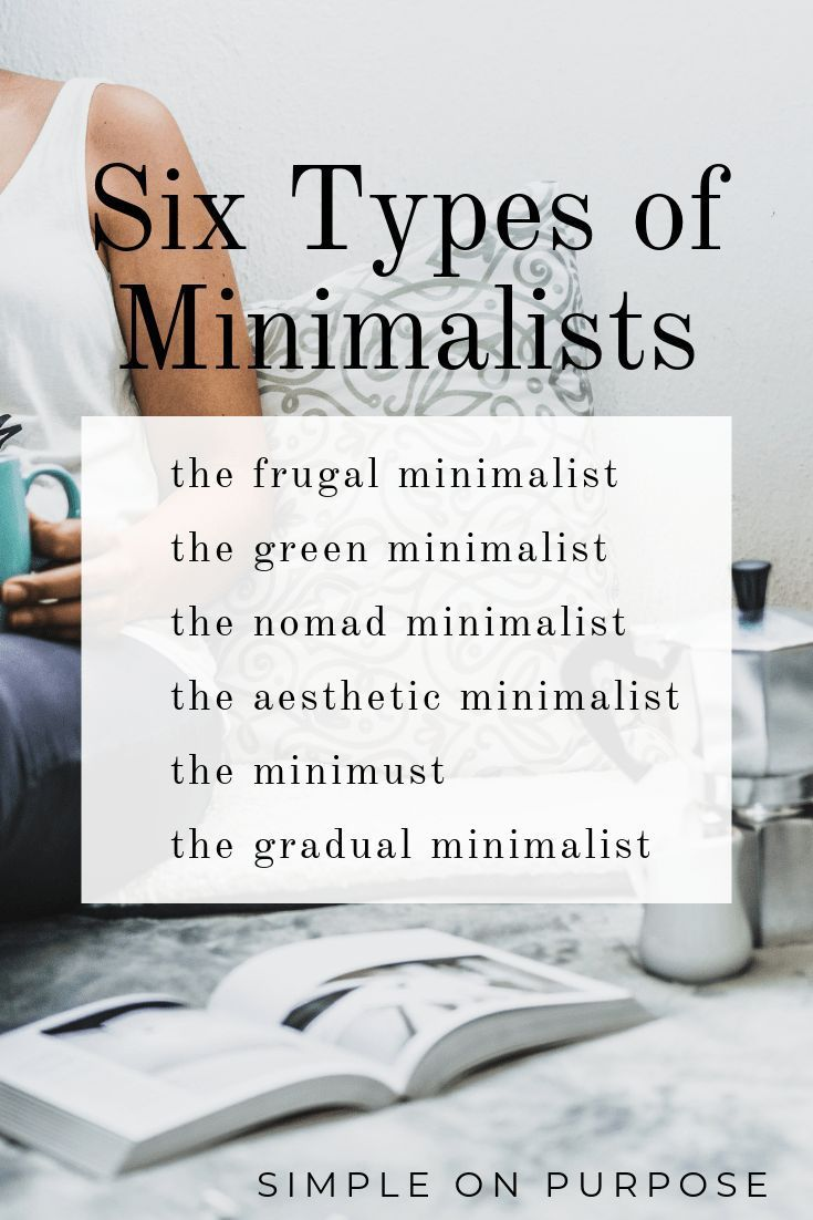 Six Types of Minimalists images