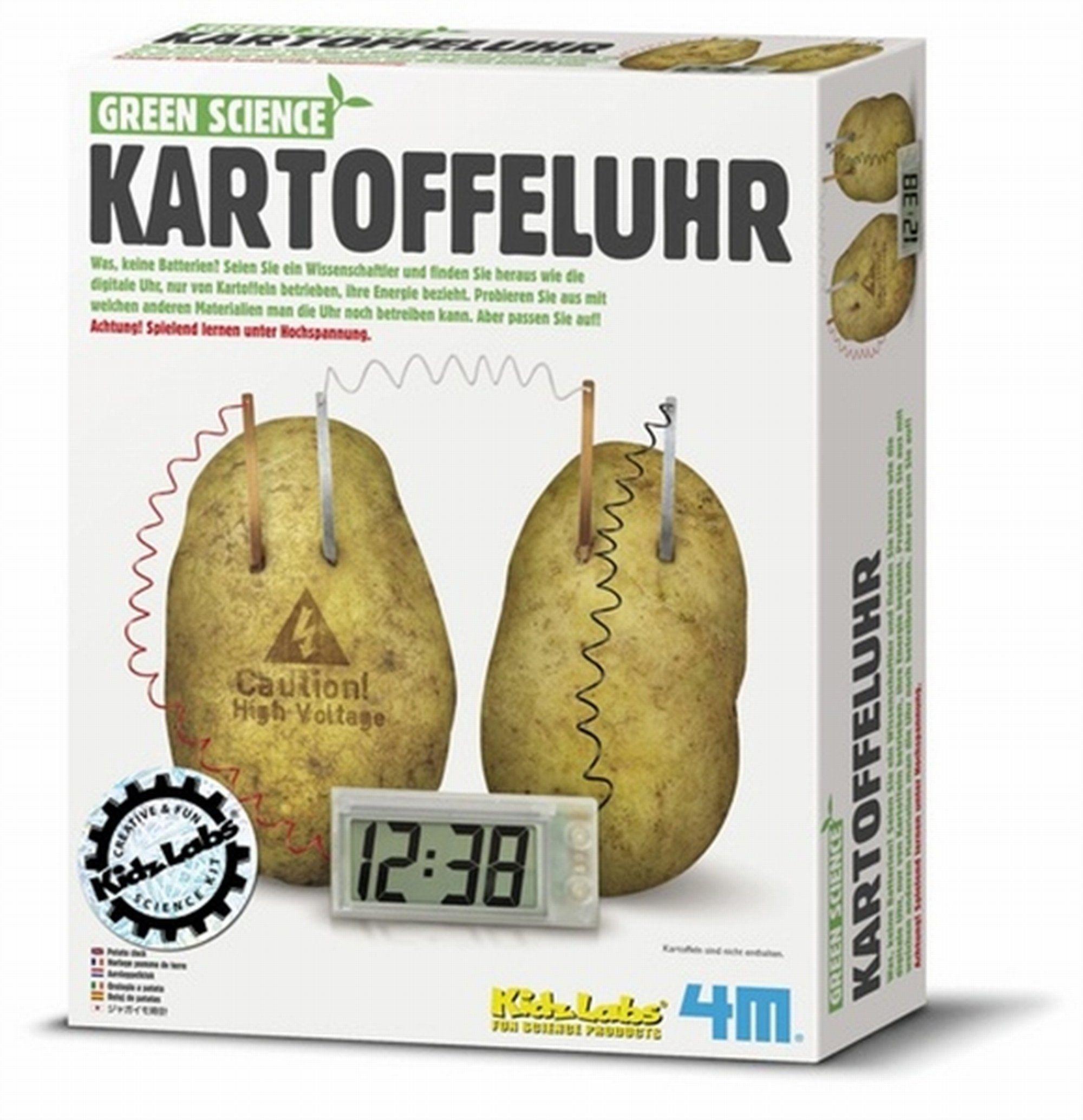 4M 663275 - Green Science - Kartoffeluhr: Amazon.de: Spielzeug