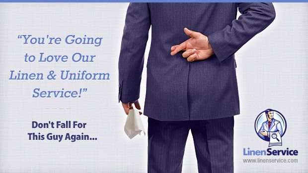 You Re Going To Love Our Linen Uniform Service Uniformed