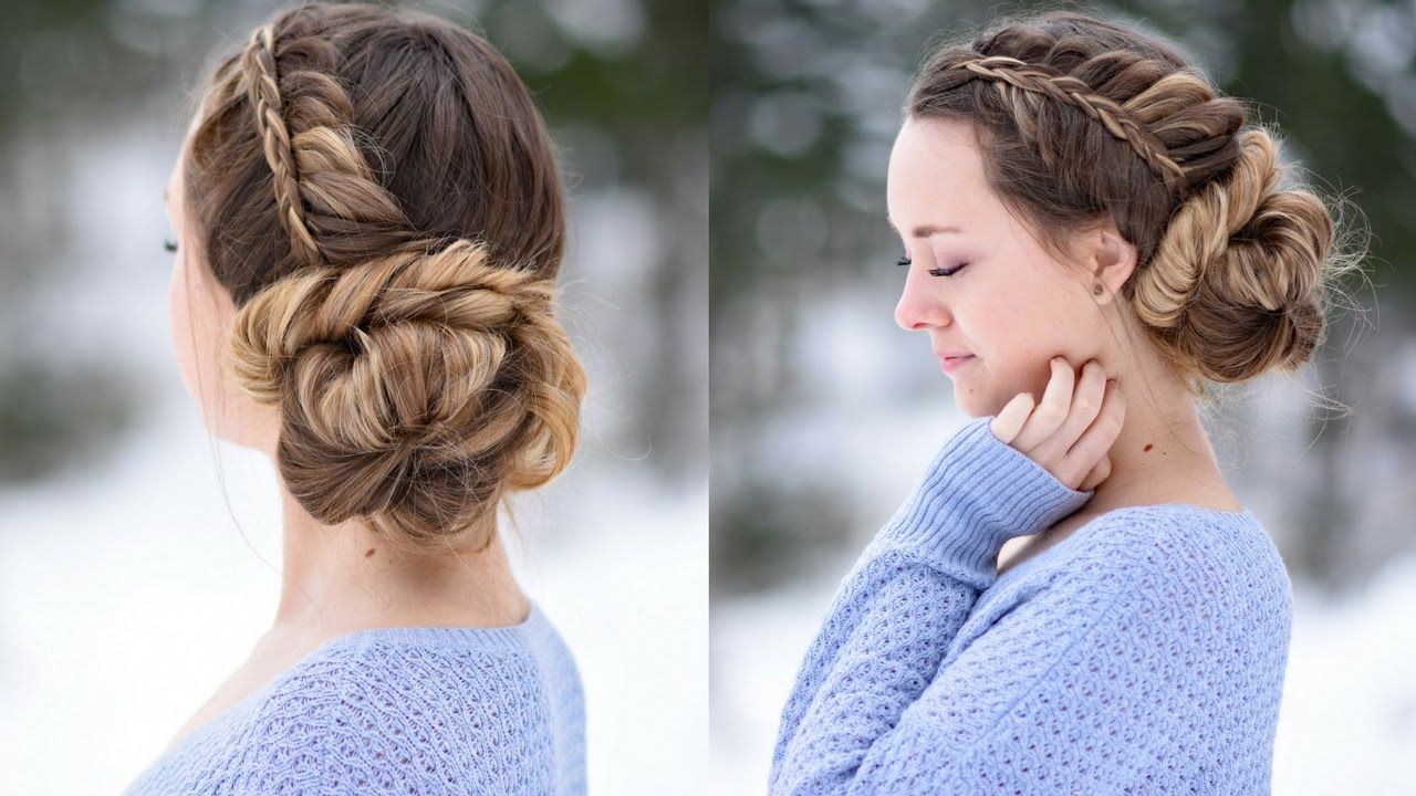 Stacked Fishtail Updo | Prom Hairstyle | Cute Girls Hairstyles ...