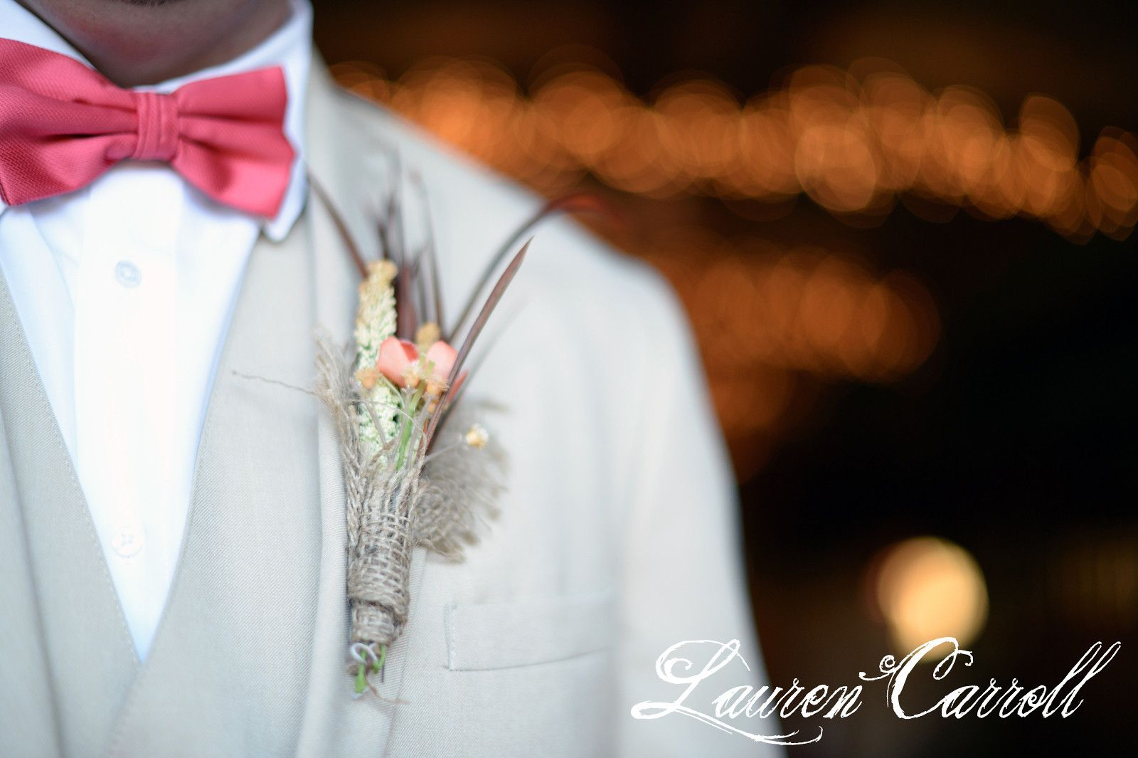 love this boutonniere! it's so different, and perfect!