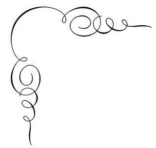 scroll corner border craft pinterest clip art art and calligraphy