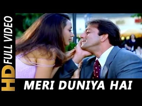 Meri duniya hai lyrical video   vaastav the reality   sonu nigam.