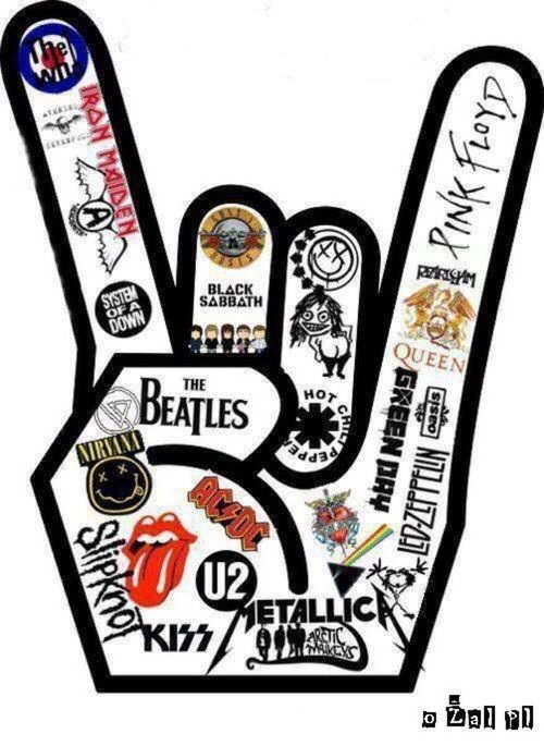 Ac Dc Arctic Monkeys Black Sabbath Classic Iron Maiden Kiss