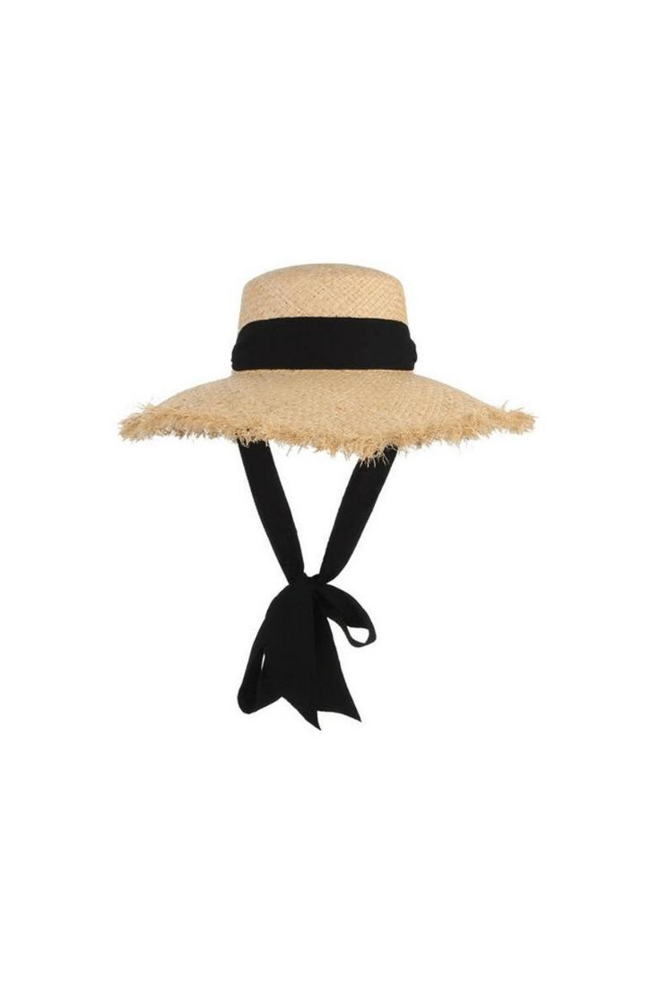 Wide Brimmed Straw Hat Straw Hat Floppy Hat Hats