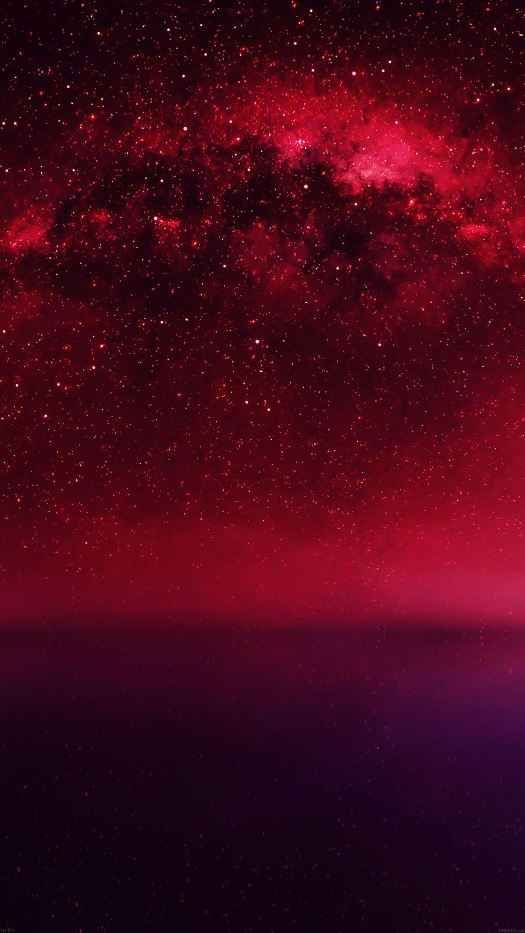 Wallpaper iphone live photo - Cosmos Red Night Live Lake Space Starry Iphone 6 Wallpaper