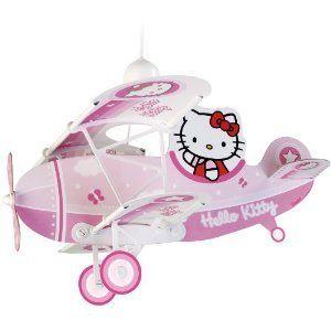 hello kitty airplane lamp