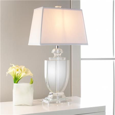 Silhouette Crystal Urn Table Lamp Design