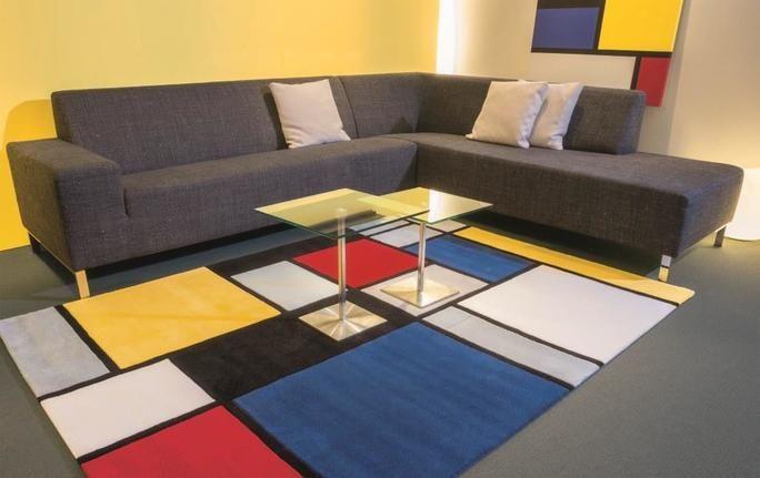Tapis Style Mondrian A Venir Decouvrir Chez Les Meubles Richard A Florenville En Belgique