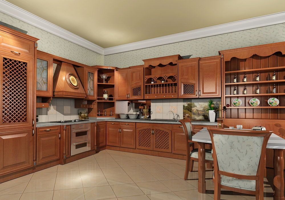 Solid Wood Kitchen Furniture Ideas  Solid Wood Kitchens Wood Awesome Design Ideas For Kitchen Cabinets Inspiration Design