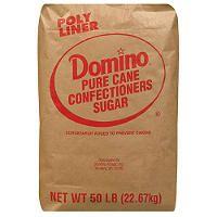 Domino Powdered Sugar - 50 lbs. - Sam's Club