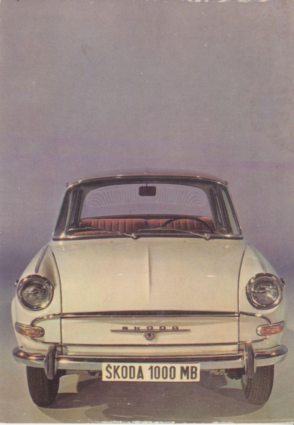Skoda 1000 Mb Approx 1965 Auto Tekniikka