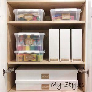 Shop this pic from @neatmethod #art #supplies #storage #kids #small #spaces