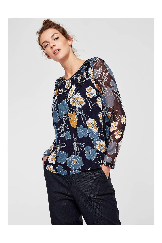 06c51ebb76594c Oliver top met bloemenprint  wehkamp  top  shirt  blouse  bloemen