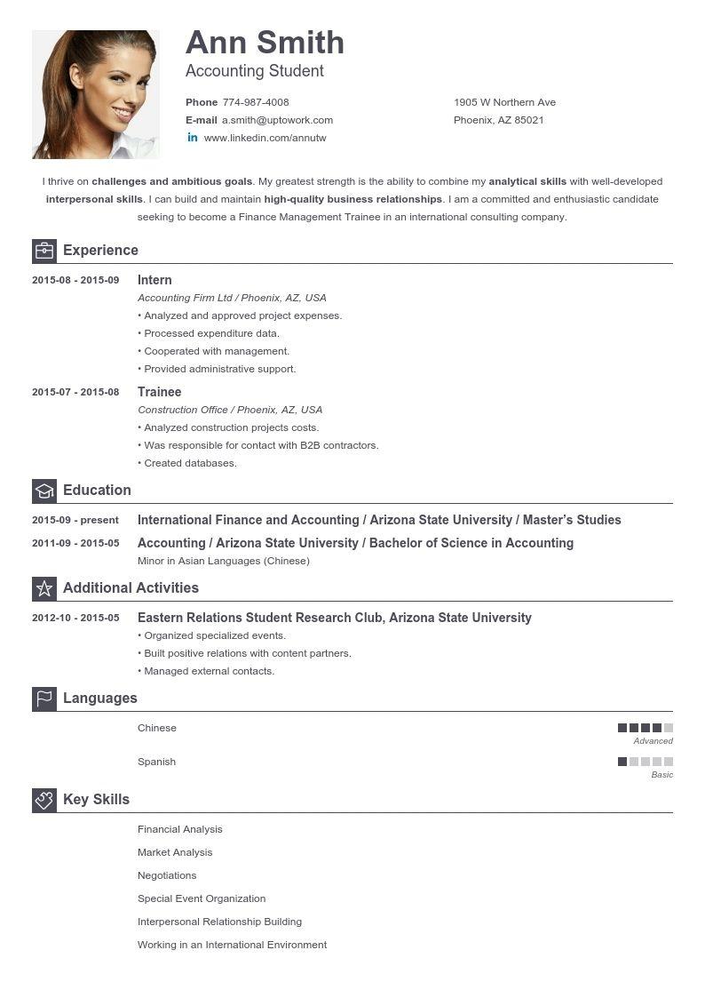 Free Resume Templates Generator Free Online Resume Builder