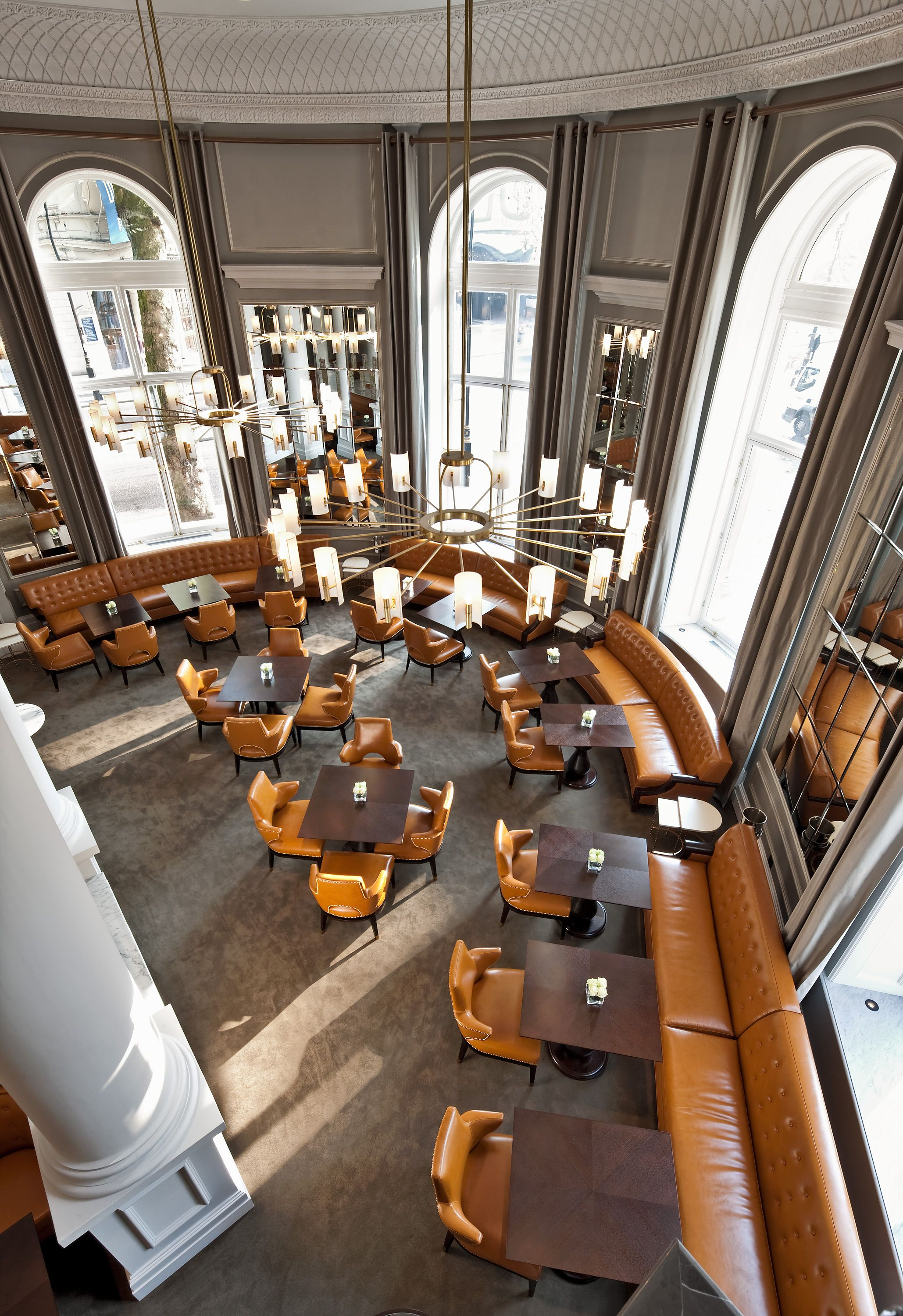 The Northall Restaurant Corinthia Hotel London Designed By G A Design Furniture