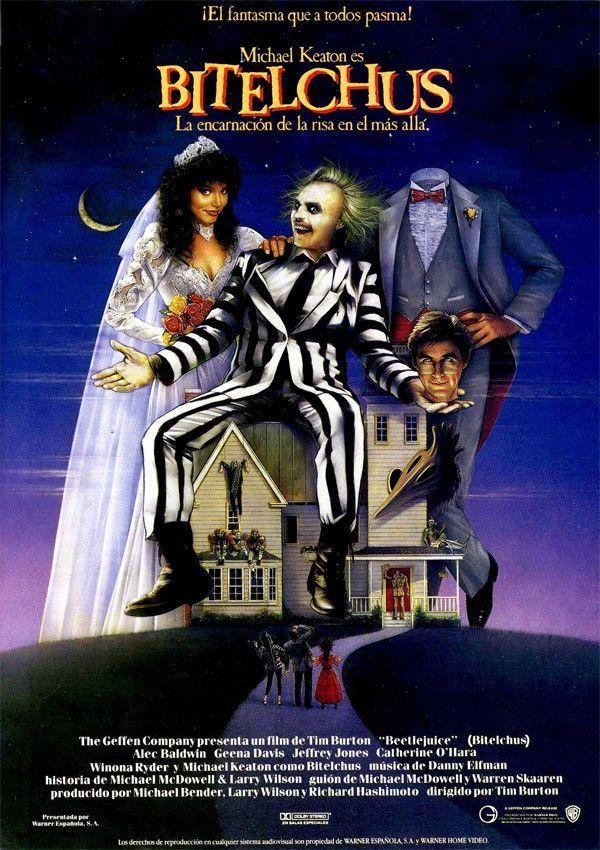 BITELCHUS. dvd. Beetlejuice, Películas de halloween