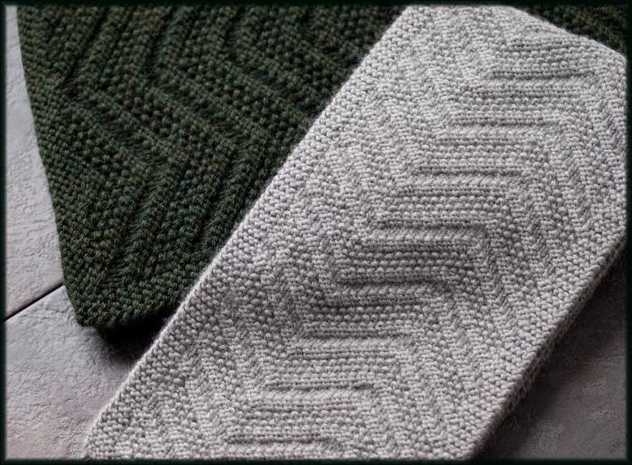 Мужской шарф спицами схема вязания 84