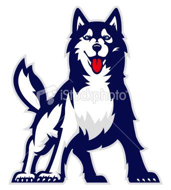 university of washington mascot boy and girle siberen huskies