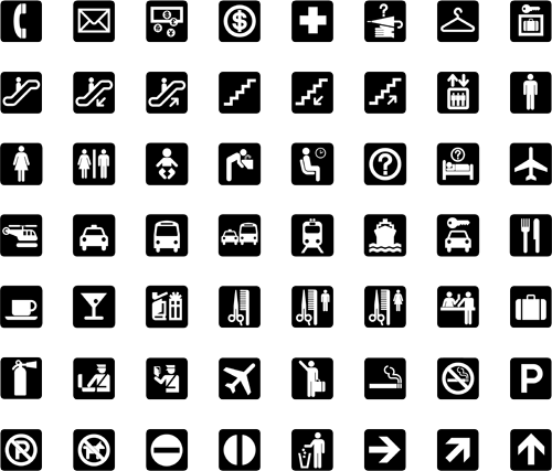 Aiga Icons This System Of 50 Symbol Signs Was Designed For Use At