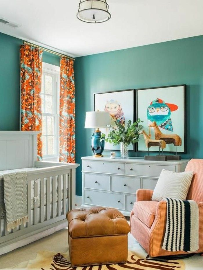 Photo of gender neutral nursery colorful nurseries  –  #Colorful #Gender #neutral #nurser…
