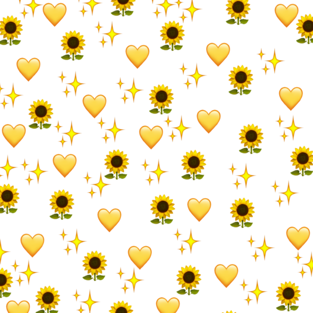 Yellow Aesthetic Stickers Png
