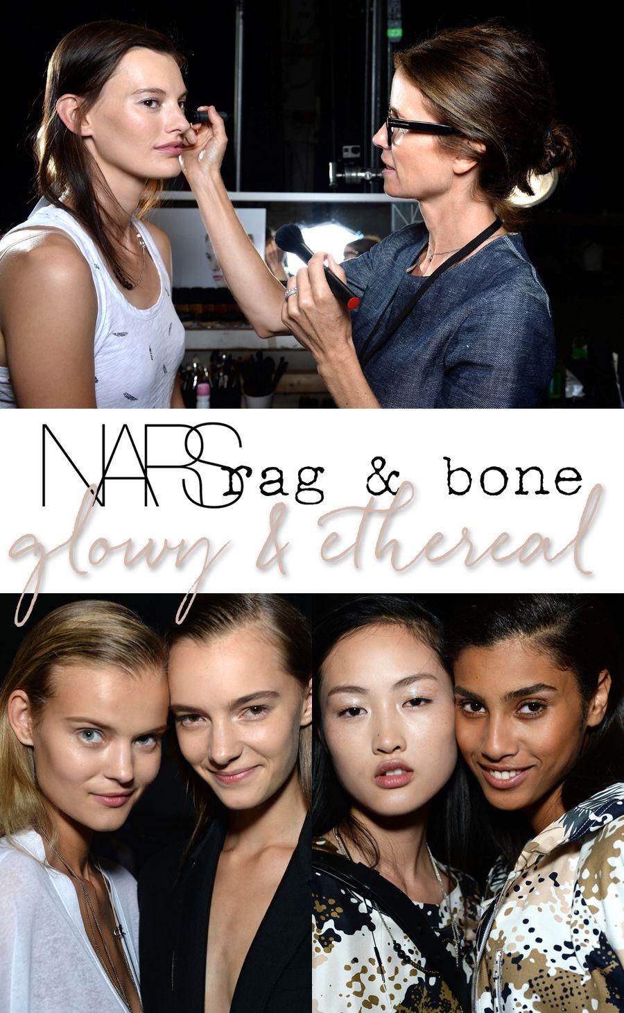 Get the Look NARS at Rag & Bone Spring/Summer 2015 Glowy