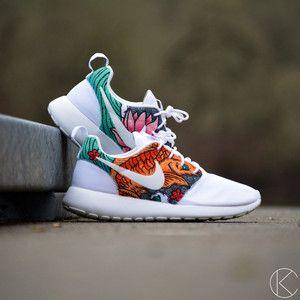 Nike Roshe Courir Impression Grunge Gradient Orange
