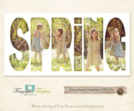 Photography Storyboard Templates Spring Storyboard Photoshop