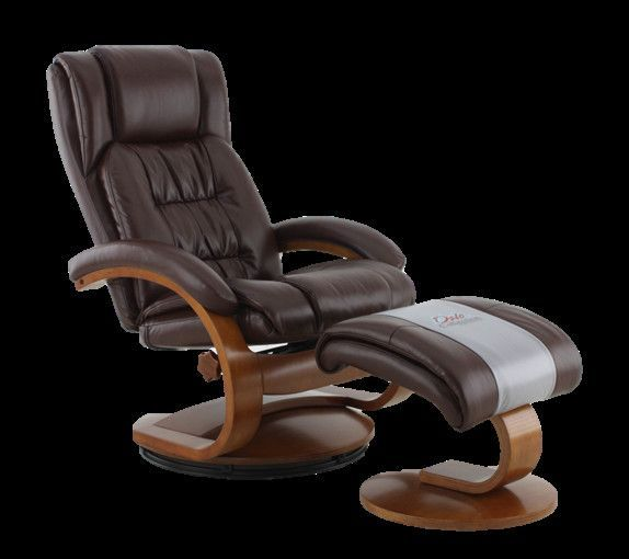 Oslo Whiskey Breathable Air Leather Recliner