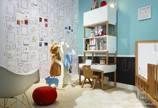 Fun modern nursery to toddler room modern kids toronto by