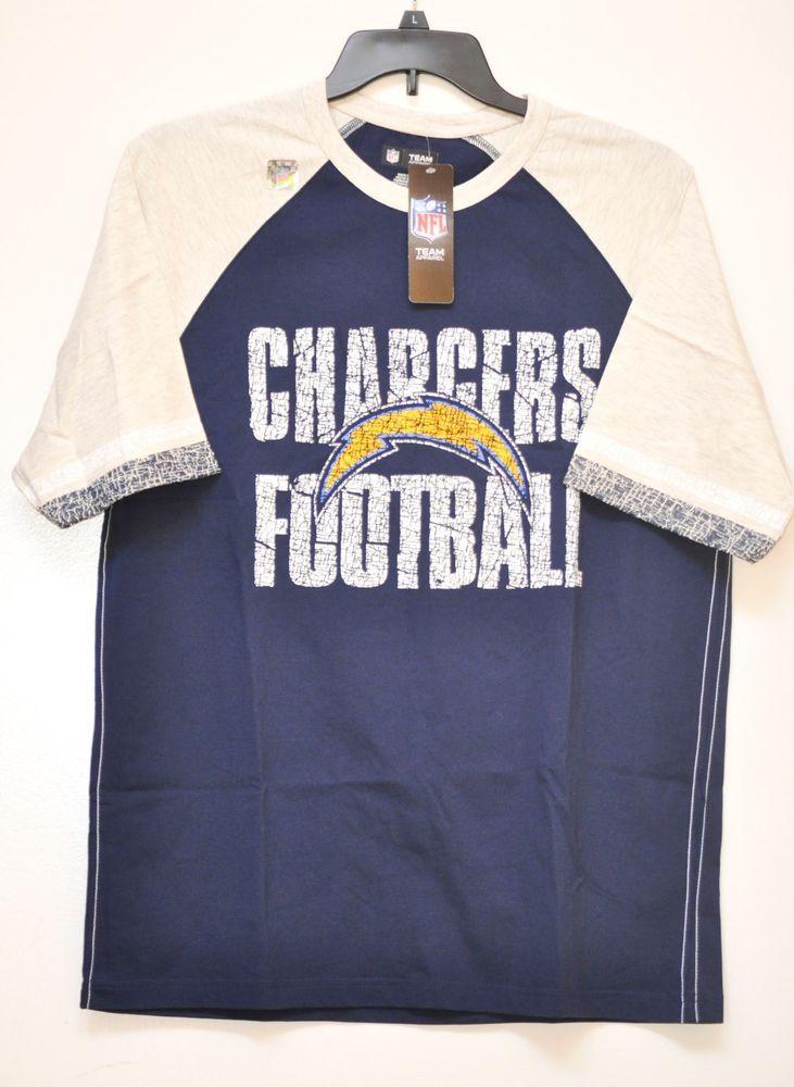 NFL CHARGERS FOOTBALL MEN S SHIRT TEAM APPAREL SIZE L NWT  NFL  BaseLayers  · Crew NeckFootball ... e84c7d23d