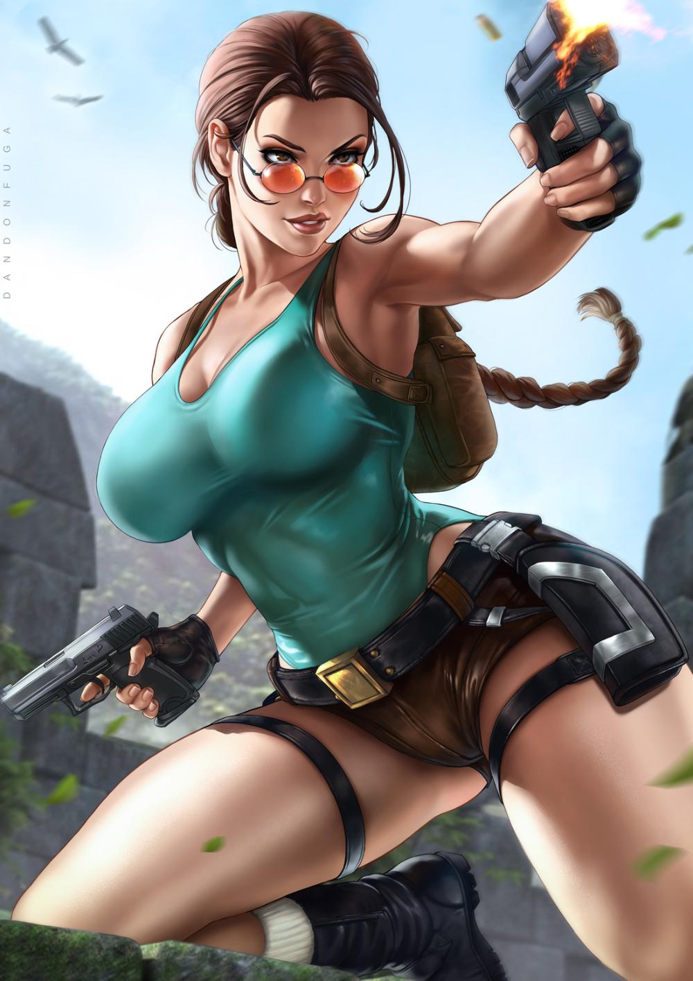 Classic Lara Croft By Dandonfuga By Dandonfuga On Deviantart Lara Croft Classic Lara Croft Tomb Raider