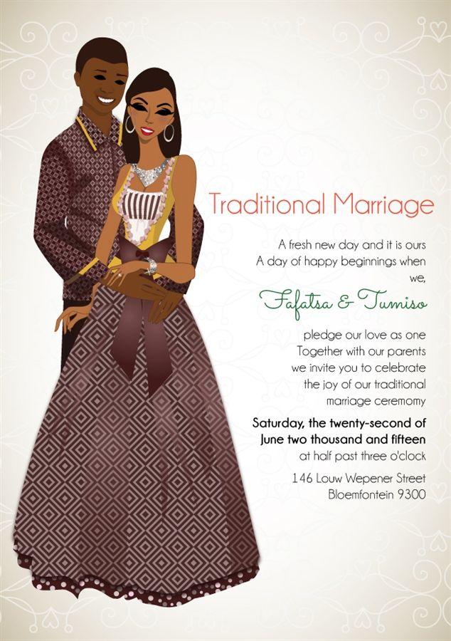 Nigerian Traditional wedding invitation Card – Traditional Wedding Invitation Card