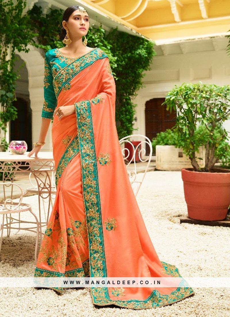 Fancy Glamorous designer saree latest collection