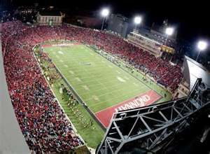 Nippert Stadium University Of Cincinnati University Of