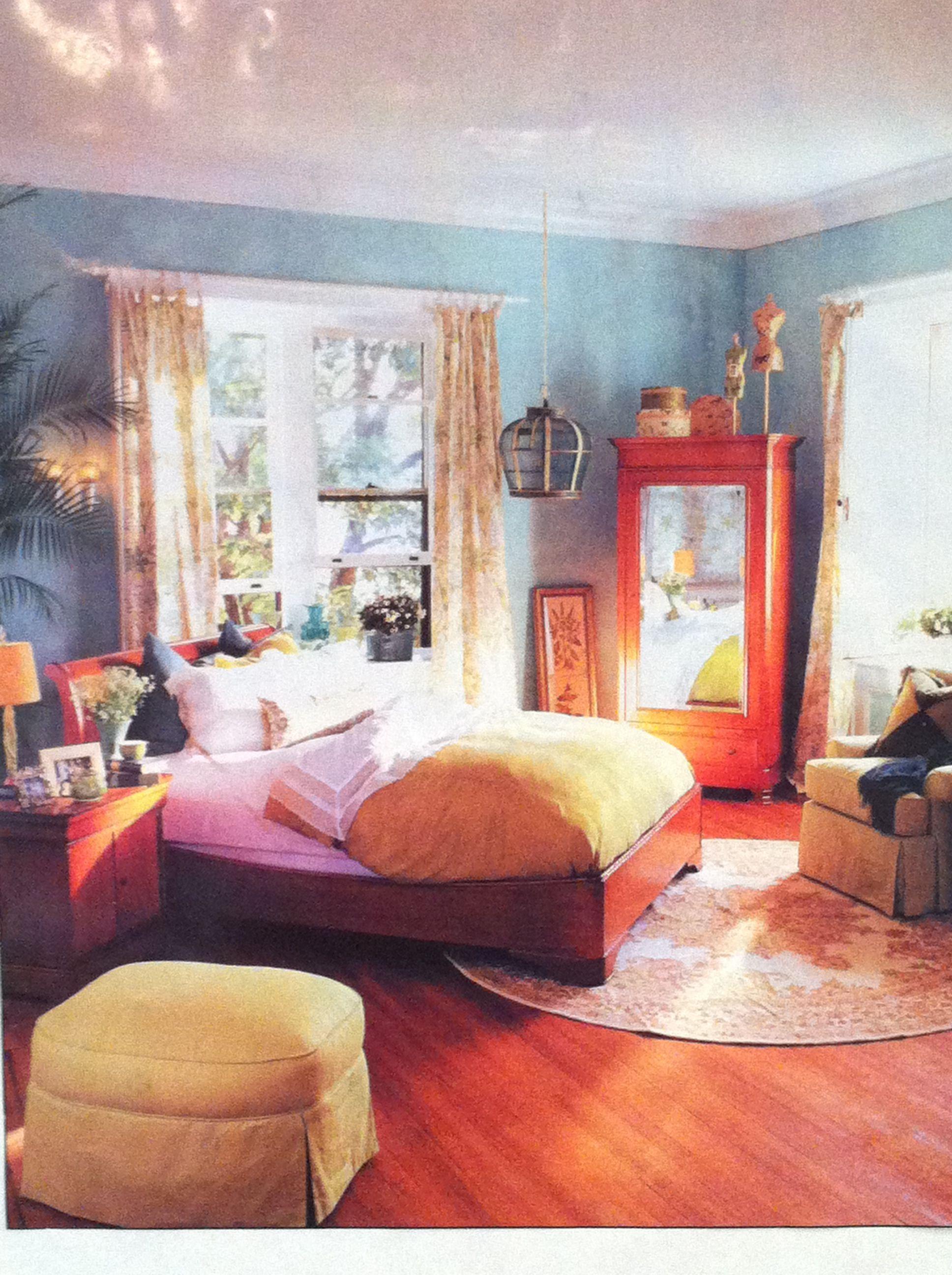 Green bedroom   Blue green bedrooms, Bedroom green, Home