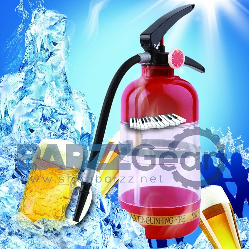 Buy Fire Extinguisher Drink Dispenser, 1.5L at BARZZ - Bar Gear for ...