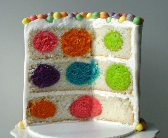 Polka Dot Cake!