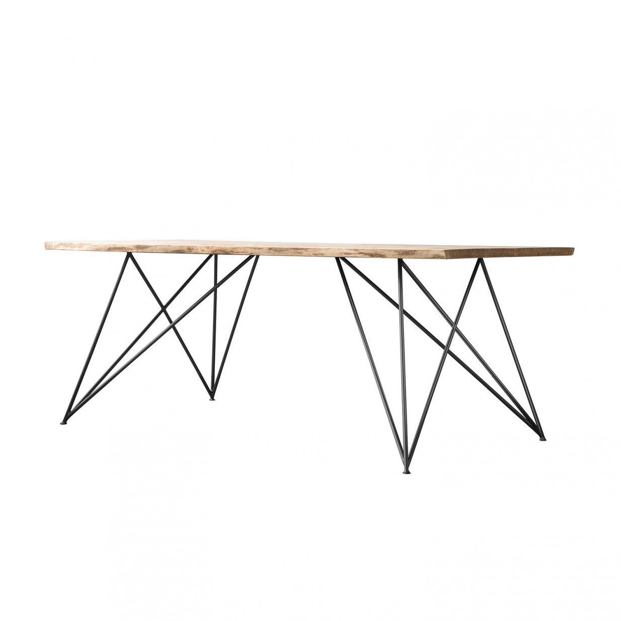 Oak Slim Tisch Nutsandwoods Tischbeine Metall Esstisch Beine