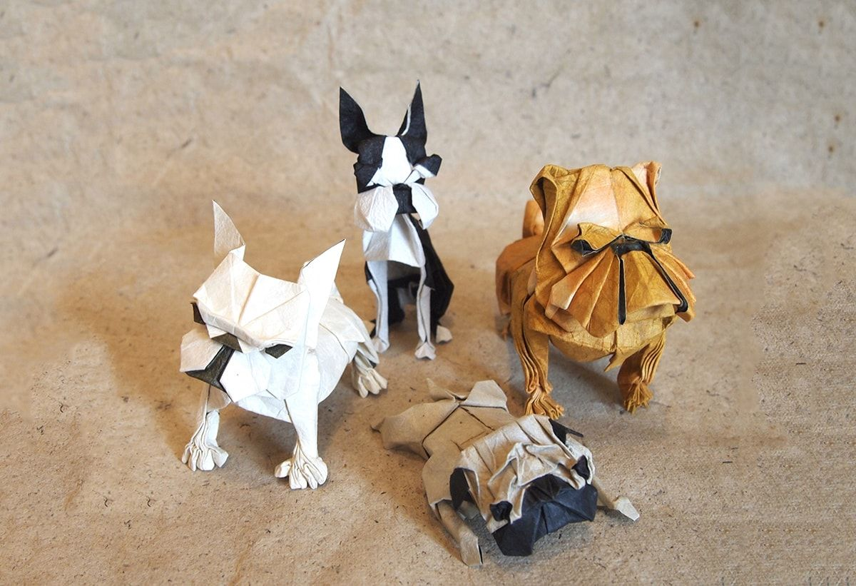 Chinese New Year 2018 Origami Dog Extravaganza Ms Parrotdiagram By Barth Dunkan Ecorigami Papercraft Papercrafts Paper Craft Crafts Diy Fold Folding Chinesenewyear